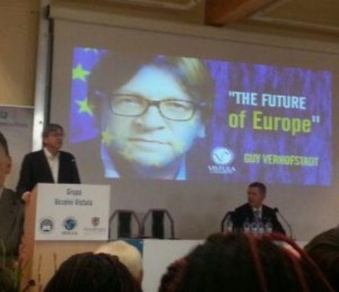 Guy Verhofstadt w Warszawie