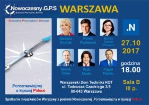 .Nowoczesny G.P.S. Gospodarka – Praworządność – Samorządność.