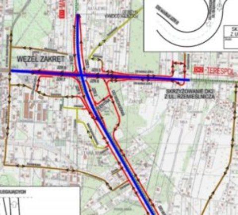 Spotkanie informacyjne w sprawie budowy węzła Zakręt w ciągu drogi ekspresowej S17.